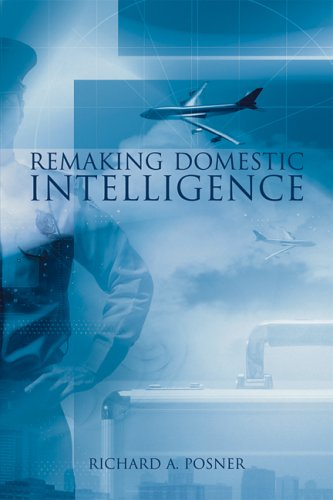 Remaking Domestic Intelligence   2005 edition cover