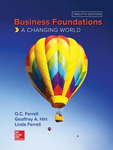 Business Foundations:   2019 9781260488821 Front Cover