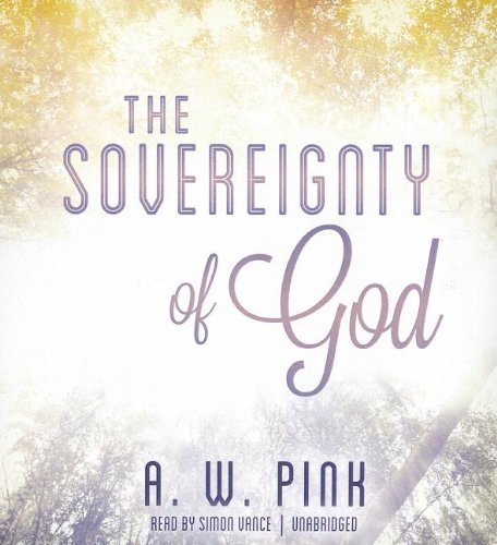 The Sovereignty of God:   2012 edition cover