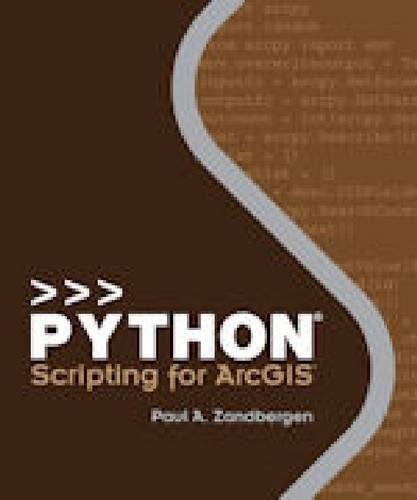Python Scripting for ArcGIS   2013 edition cover