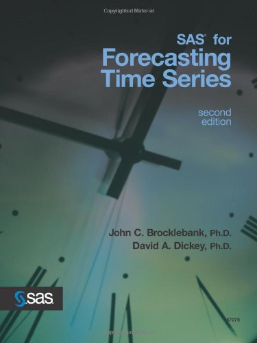 SAS for Forecasting Time Series  2nd 2003 edition cover