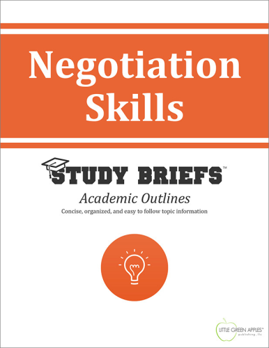 Negotiation Skills   2015 9781634261821 Front Cover