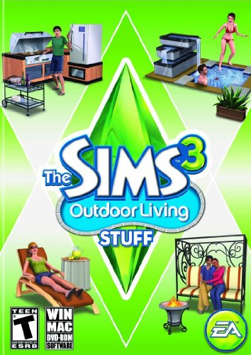 The Sims 3: Outdoor Living Stuff Windows XP artwork
