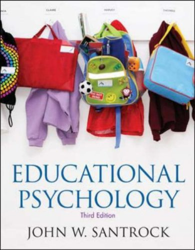 Educational Psychology  3rd 2008 (Revised) edition cover