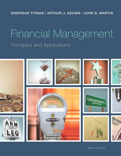 Financial Management Principles and Applications 12th 2014 edition cover