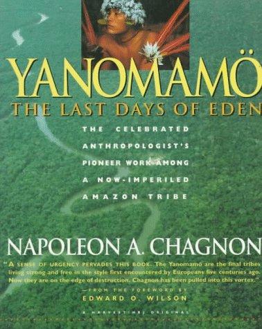 Yanomam� The Last Days of Eden  1992 edition cover