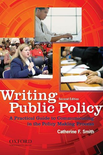 Writing Public Policy A Practical Guide to Communicating in the Policy-Making Process 2nd 2009 edition cover