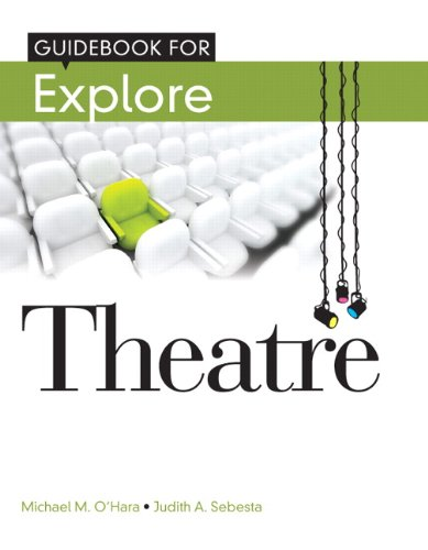 Student Guide Book for Explore Theatre   2012 9780205115822 Front Cover
