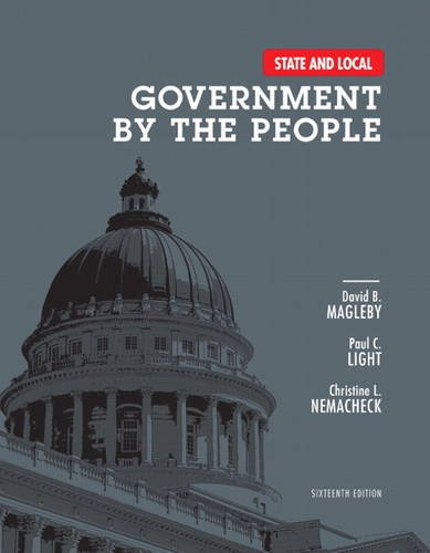 State and Local Government by the People  16th 2013 edition cover