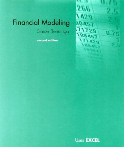 Financial Modeling 2nd 2000 edition cover