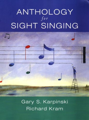 Anthology for Sight Singing  N/A edition cover