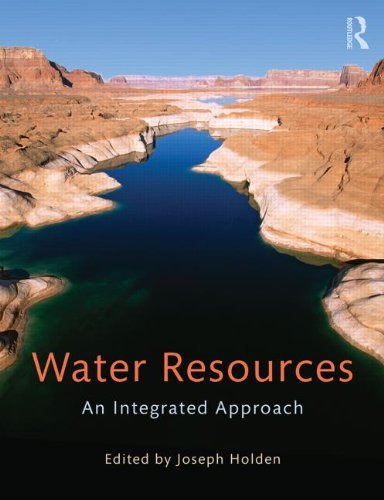 Water Resources An Integrated Approach  2014 edition cover