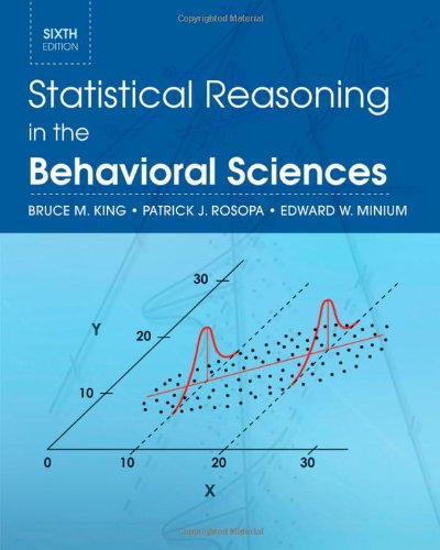 Statistical Reasoning in the Behavioral Sciences  6th 2011 edition cover