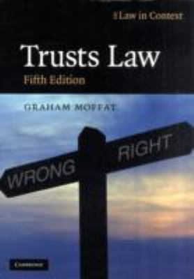 Trusts Law Text and Materials 5th 2009 9780521743822 Front Cover