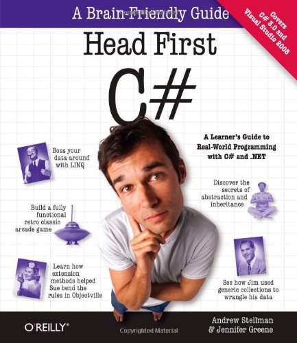 Head First C#   2007 edition cover