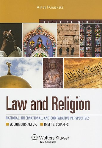 Law and Religion National, International, and Comparative Law Perspectives 3rd 2010 (Student Manual, Study Guide, etc.) edition cover