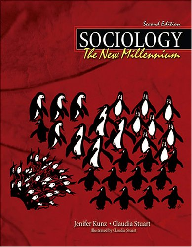 Sociology The New Millennium 2nd 2005 (Revised) 9780757520822 Front Cover