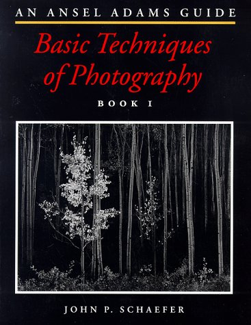 Ansel Adams Guide Basic Techniques of Photography  1992 edition cover