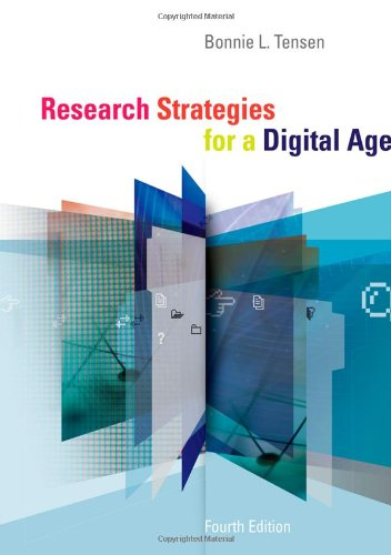 Research Strategies for a Digital Age  4th 2013 edition cover