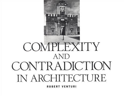 Complexity and Contradiction in Architecture  2nd 1977 edition cover