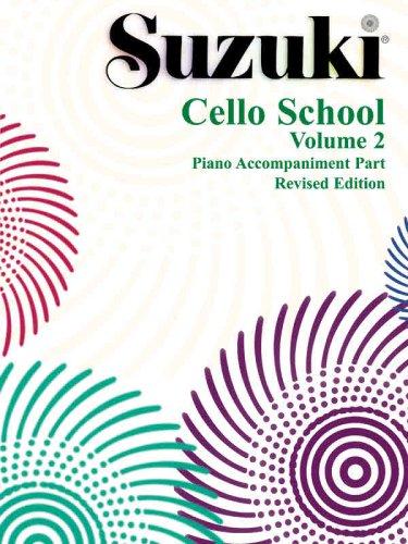 Suzuki Cello School, Vol 2 Piano Acc  2000 (Revised) edition cover