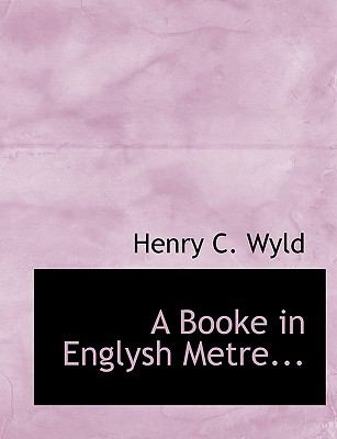 Booke in Englysh Metre N/A 9781113961822 Front Cover