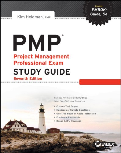 PMP Project Management Professional Exam 7th 2013 (Student Manual, Study Guide, etc.) edition cover