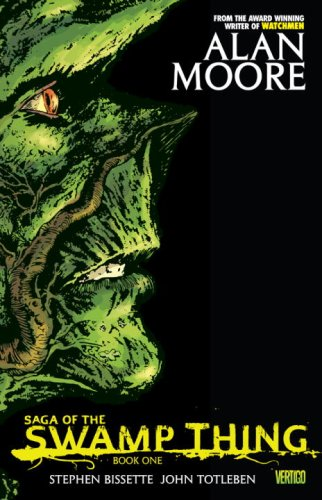 Saga of the Swamp Thing   2009 edition cover