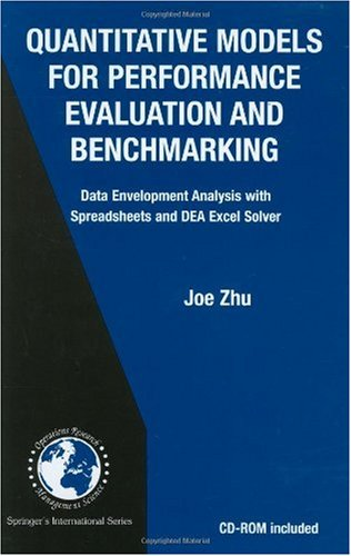 Decision Analysis Quantitative Models for Performance Evaluation and Benchmakring Data Development Analysis with Spreadsheets and DEA Excel Solver  2003 9781402070822 Front Cover
