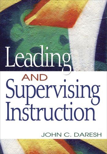 Leading and Supervising Instruction   2006 edition cover