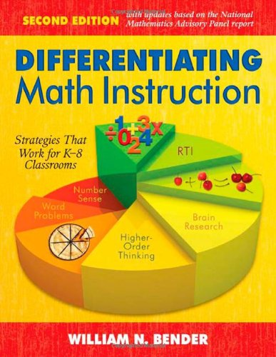 Differentiating Math Instruction Strategies That Work for K-8 Classrooms 2nd 2009 edition cover