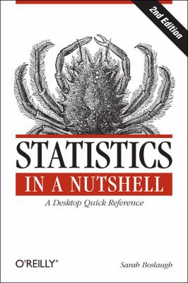 Statistics in a Nutshell  2nd 2012 edition cover
