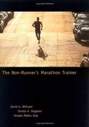 Non-Runner's Marathon Trainer   1998 edition cover