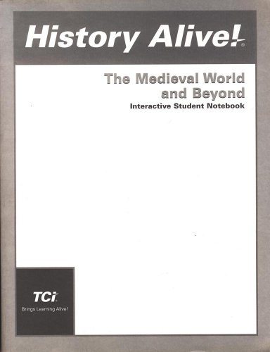 HISTORY ALIVE!:MEDIEVAL...-NOT 1st edition cover