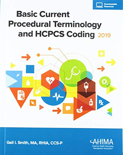 BASIC CPT+HCPCS CODING,2019 ED.         N/A 9781584266822 Front Cover