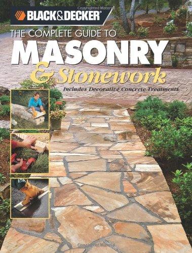 Masonry and Stonework Includes Decorative Concrete Treatments  2006 edition cover