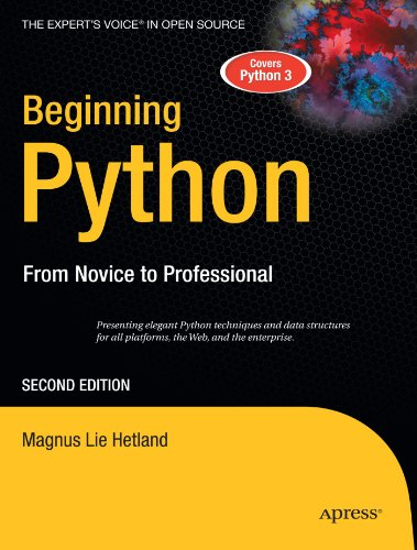 Beginning Python  2nd 2008 edition cover