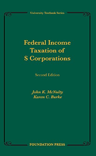Federal Income Taxation of S Corporations:   2014 9781609303822 Front Cover