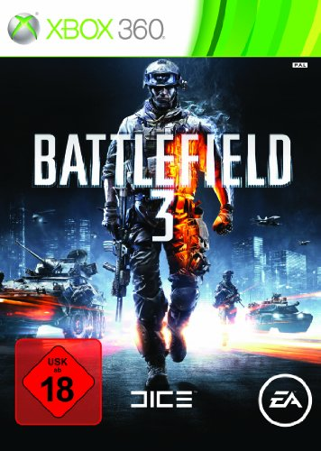 Battlefield 3 Xbox 360 artwork