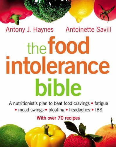 Food Intolerance Bible   2005 9780007163823 Front Cover