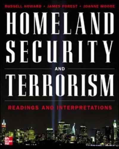 Homeland Security and Terrorism Readings and Interpretations  2006 edition cover