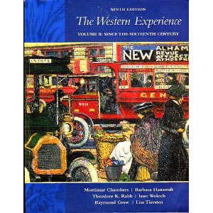WEST.EXPER.,V.II-SINCE 16TH CE 9th 2007 9780073250823 Front Cover