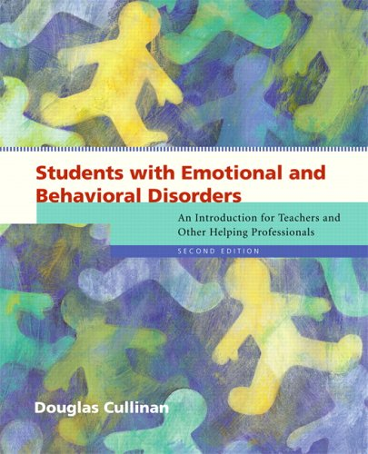 Students with Emotional and Behavioral Disorders An Introduction for Teachers and Other Helping Professionals 2nd 2007 (Revised) edition cover