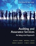 Auditing and Assurance Services:   2016 9780134065823 Front Cover