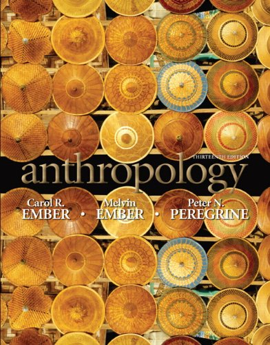 Anthropology  13th 2011 edition cover