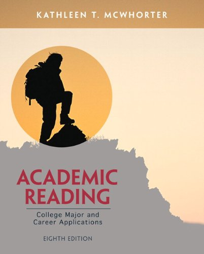 Academic Reading  8th 2014 edition cover