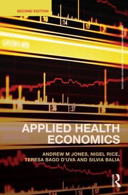 Applied Health Economics  2nd 2012 (Revised) edition cover