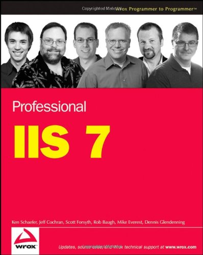 Professional IIS 7   2008 edition cover
