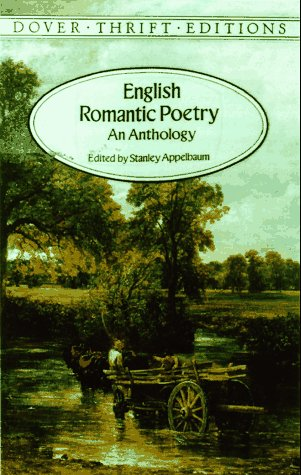English Romantic Poetry An Anthology  1996 edition cover