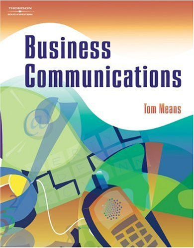 Business Communications   2004 9780538436823 Front Cover
